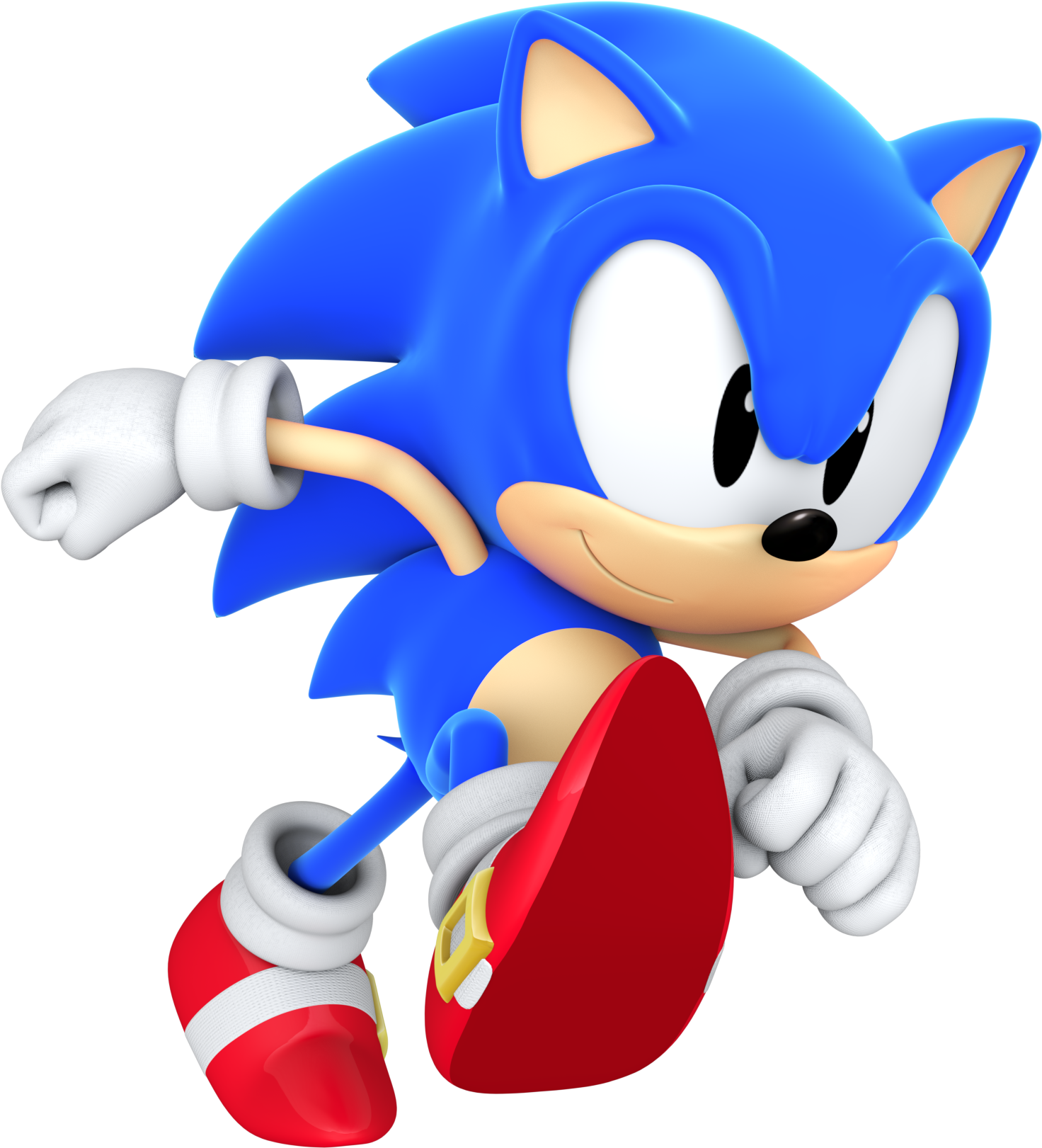 Sonic Running Png Clipart , Png Download - Running Classic ...