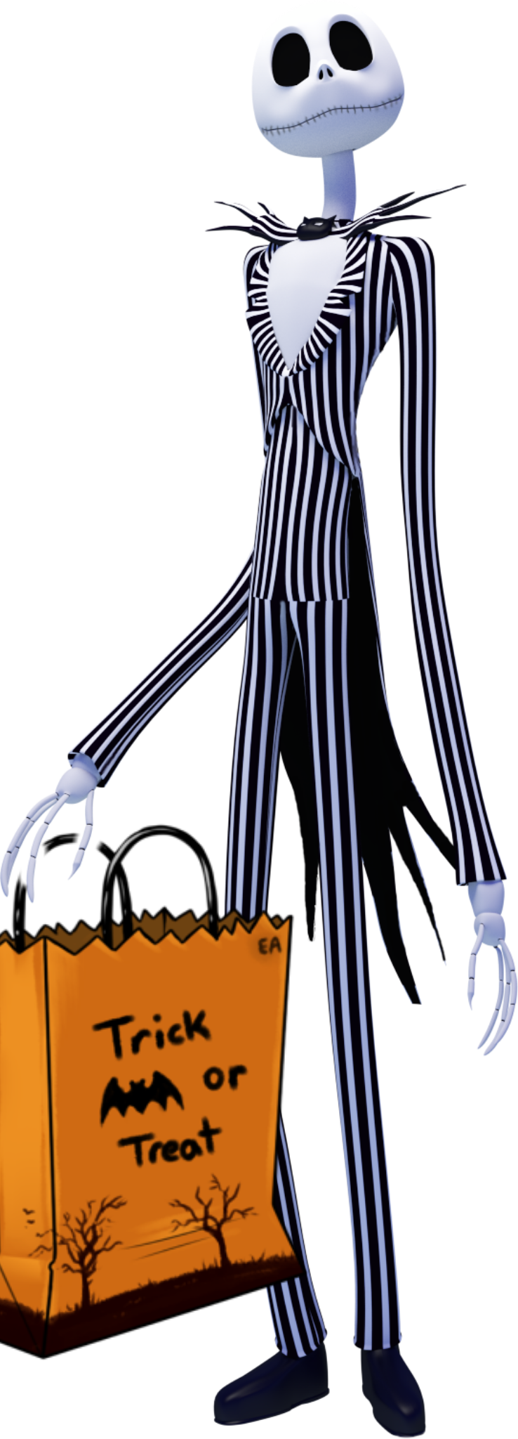 Jack Nightmare Before Christmas Png Clipart - Full Size ...