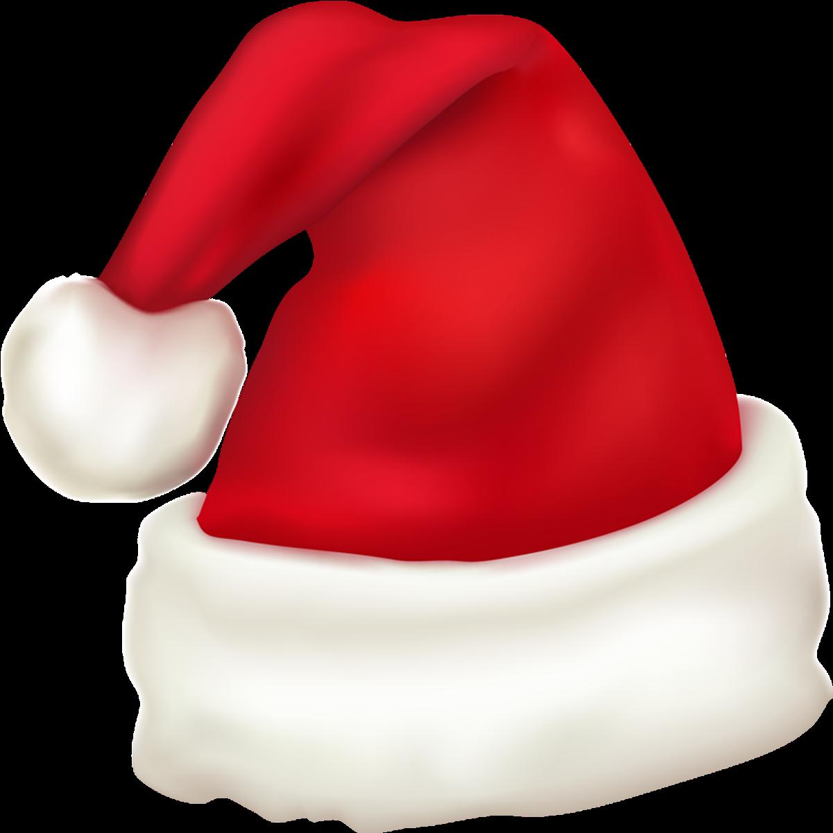 Santa Hat Png Transparent Background Christmas Clipart ...