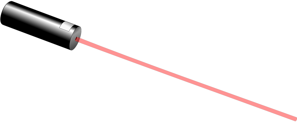 Red Laser Pointer Png Clipart - Full Size Clipart ...