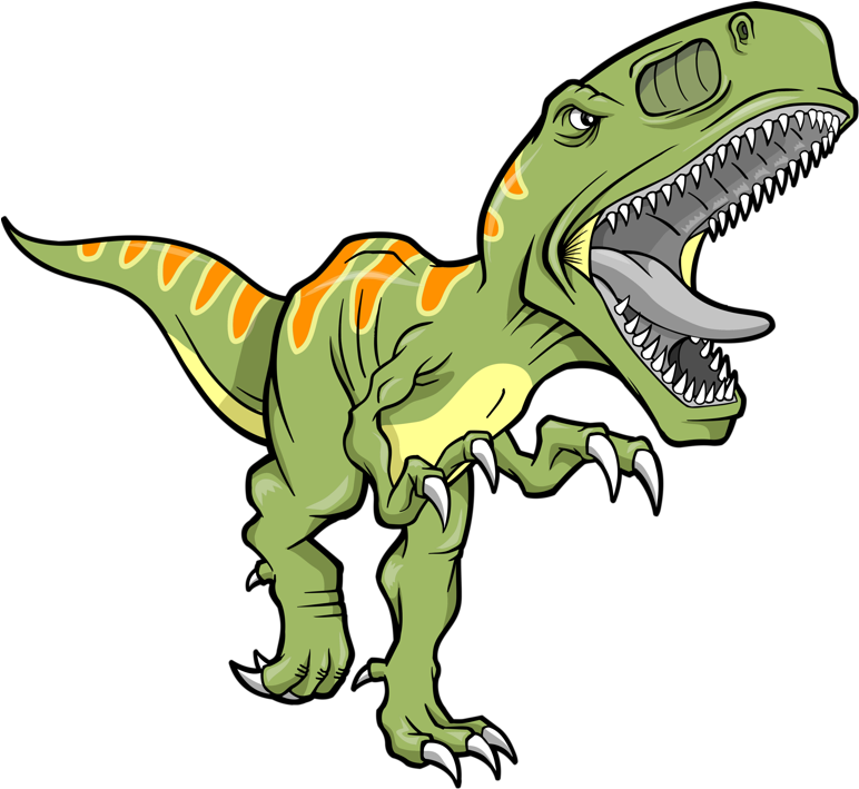 He May Not Be So Cute,but He Is A Dinosaur - T Rex Clipart ...