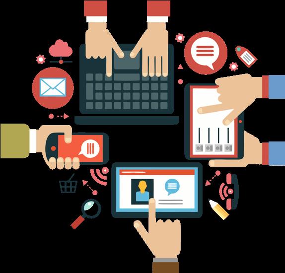 Digital Marketing Clip Art - Png Download - Full Size ...