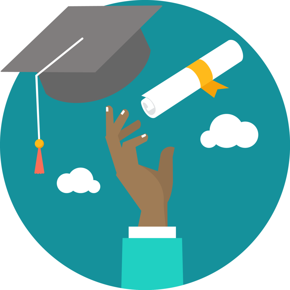 Graduation - Student Graduate Icon Png Clipart - Full Size Clipart (#590716) - PinClipart
