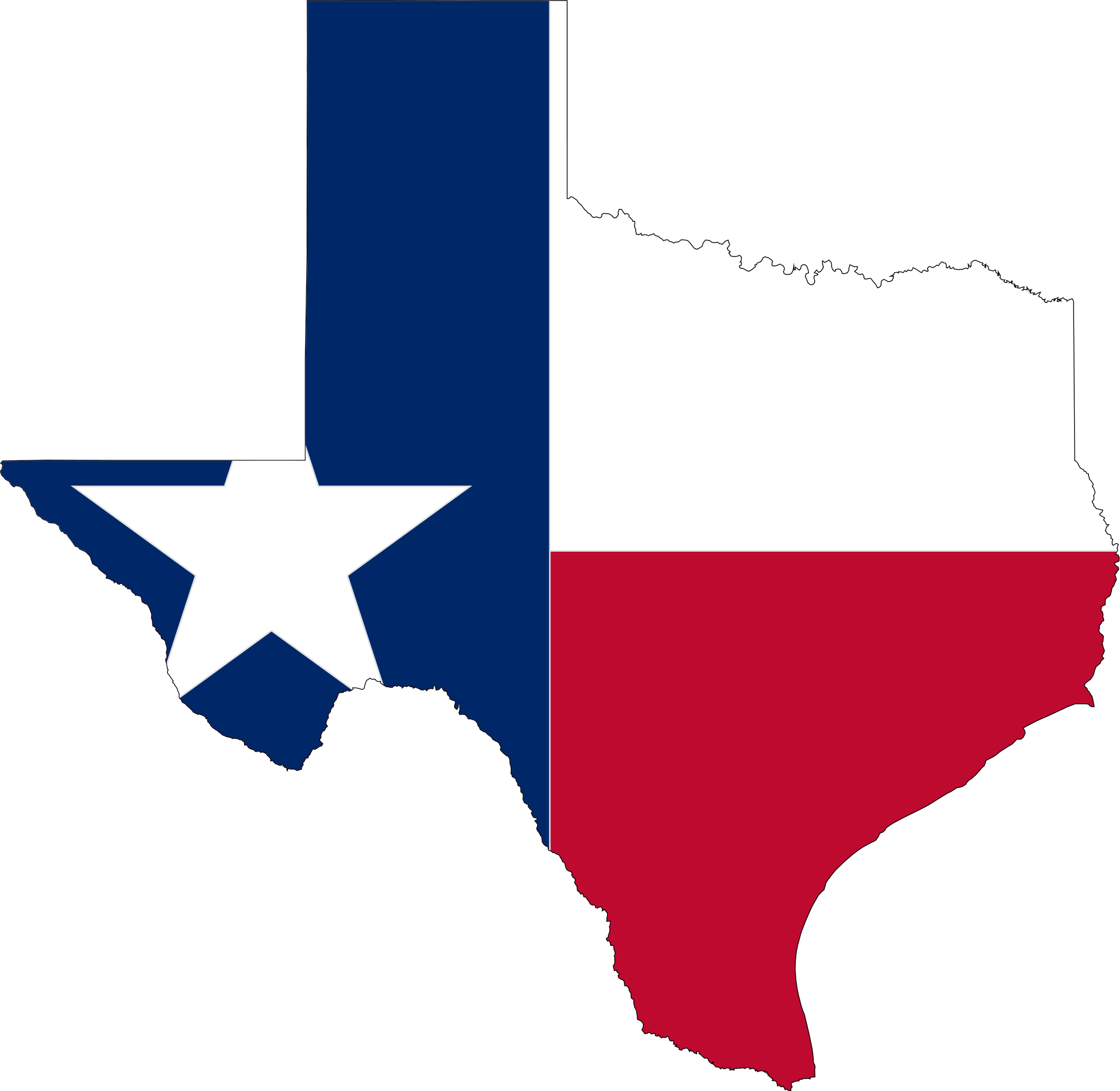 Houston Texas Map Clipart Title     Flag Map Of Texas Clipart   Full Size Clipart (#593591