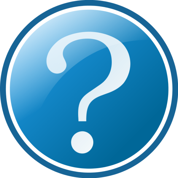 Question Mark Question Clipart Free Clip Art Images - Icon Round Question Mark Png File Transparent Png (600x600), Png Download