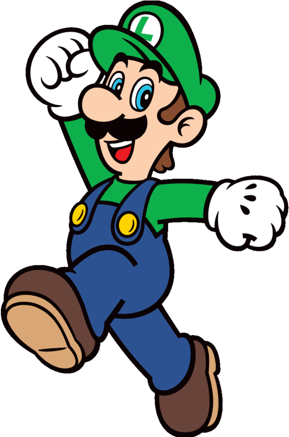 Super Mario Clipart Free Clipart Mario And Luigi Svg Png Download Full Size Clipart 601392 Pinclipart