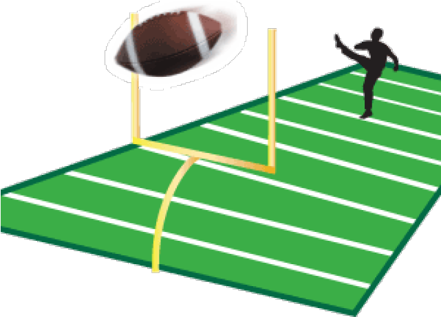 Field Goal Clipart Football Field Goal Clipart Png Download Full Size Clipart 632221 Pinclipart