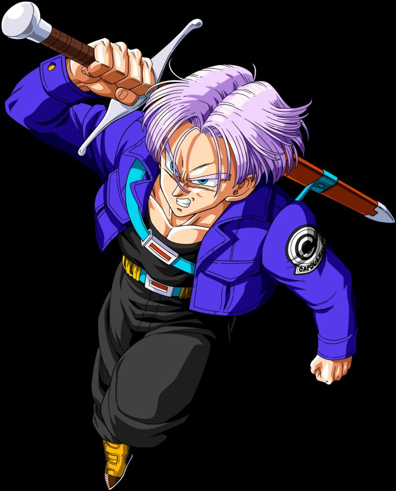 Future Trunks - Personajes Dragon Ball Png Clipart - Full ...