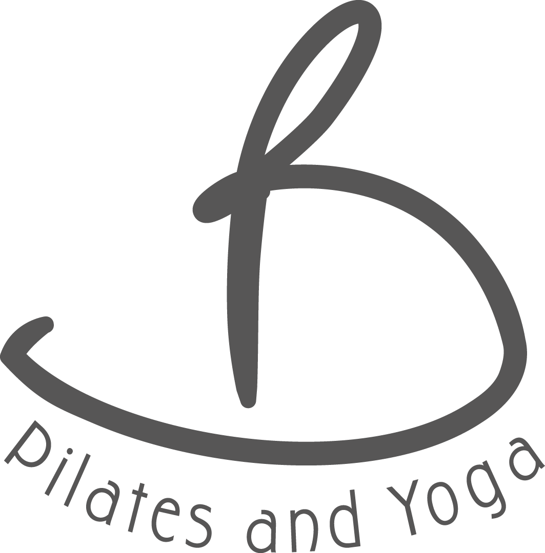 B Pilates And Yoga B Text Logo Yoga Clipart Full Size Clipart 644947 Pinclipart
