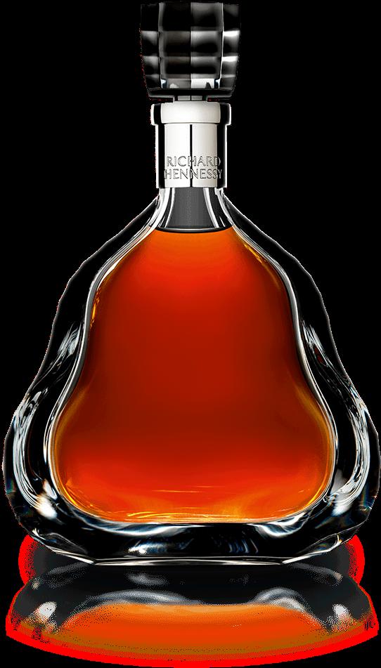 Richard Hennessy Cognac Bottle - Richard Hennessy Clipart ...
