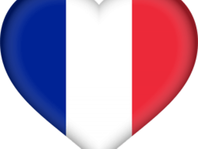 French Flag Clipart French Flag Emoji Heart Png Download Full Size Clipart 674329 Pinclipart