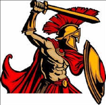Trojan Clipart Southeastern - Shield And Sword Sparta ...