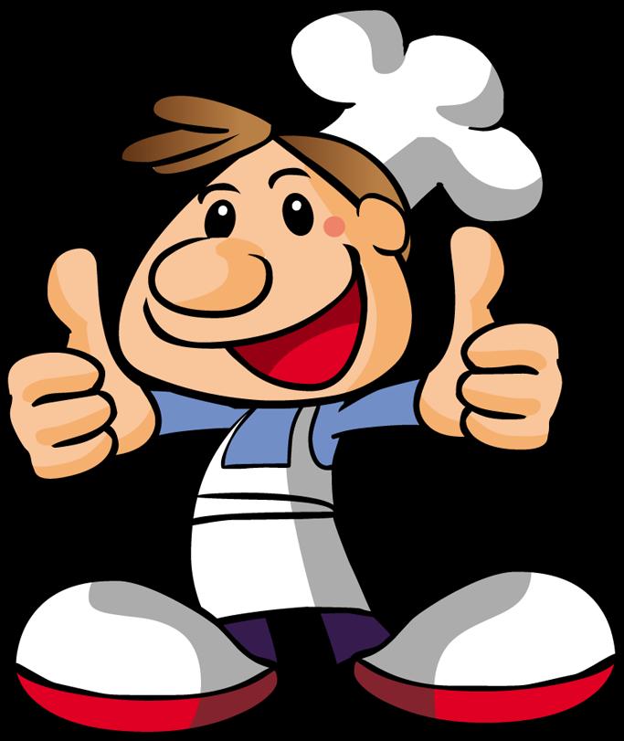 Pizza Chef Cartoon Transprent Free