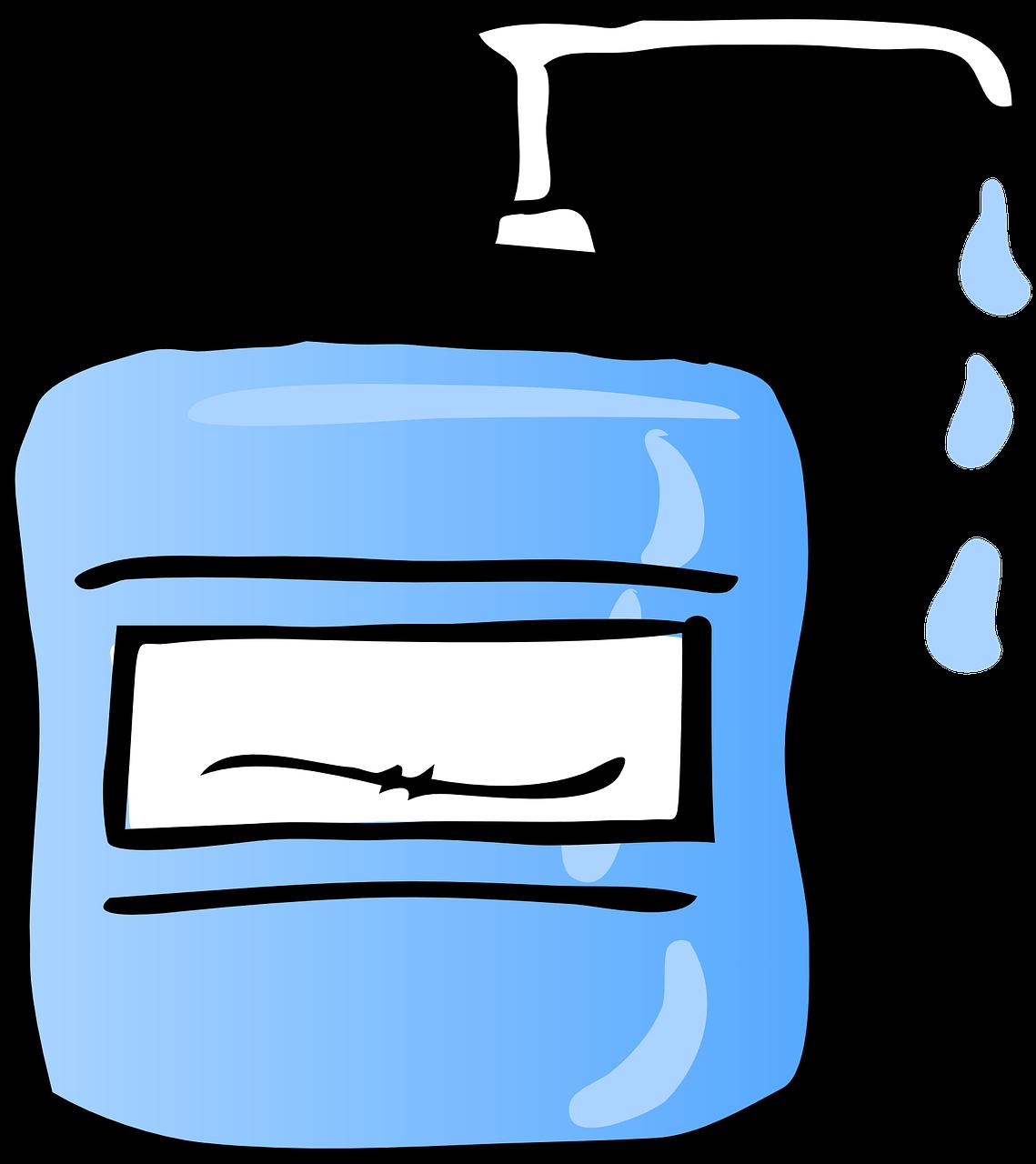 Hand Sanitizer Free Clip Art Images Diaper Sanitizer Clip Art Png Download Full Size Clipart 71223 Pinclipart