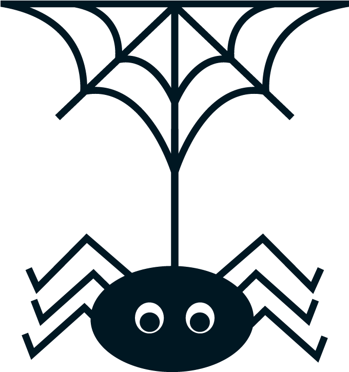 Halloween Spider Clipart.Halloween Spiders Clipart Oh My Fiesta In English Precious Spider Web Vector Png Download Full Size Clipart 73320 Pinclipart