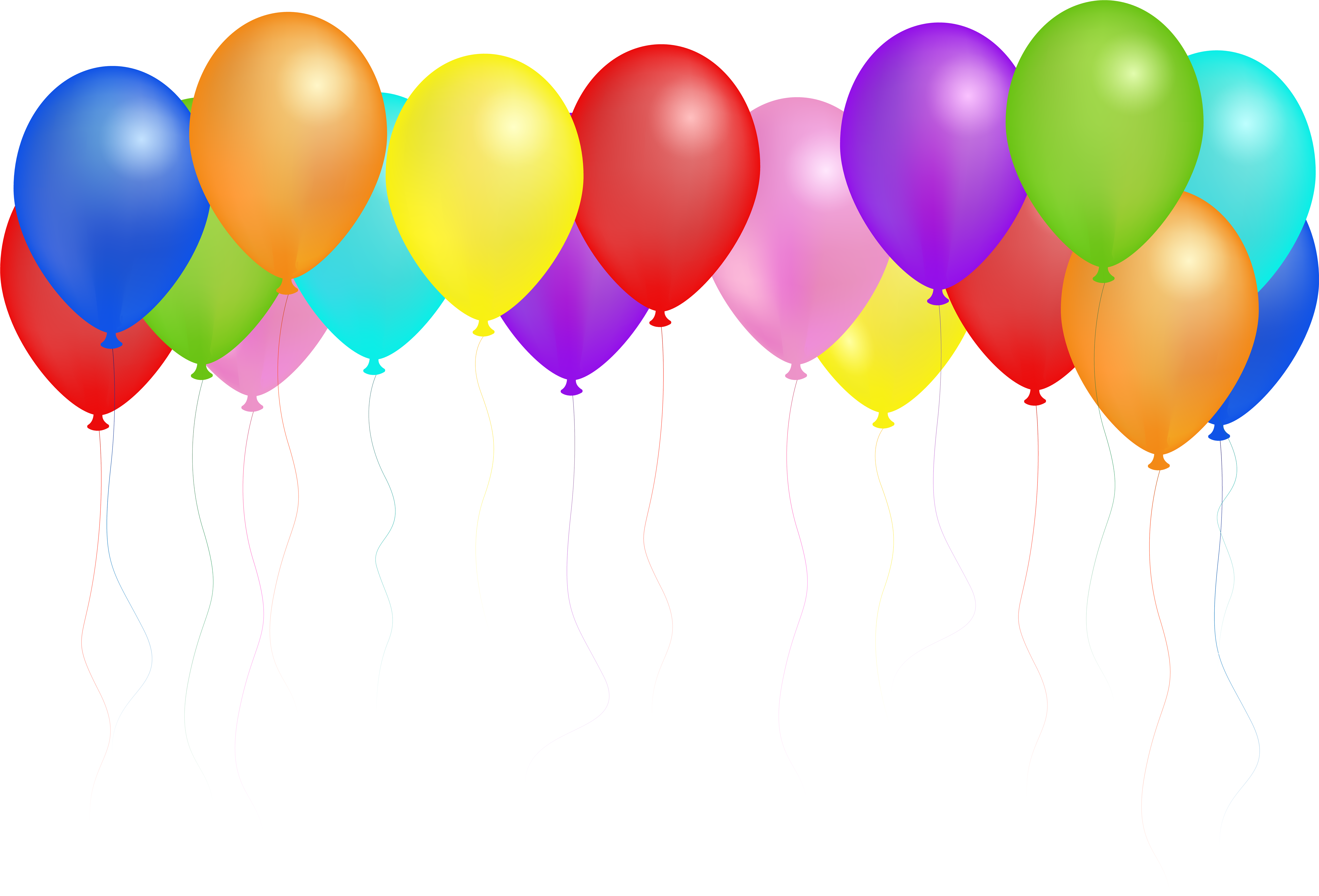Clipart Royalty Free Library Balloons Svg Seven