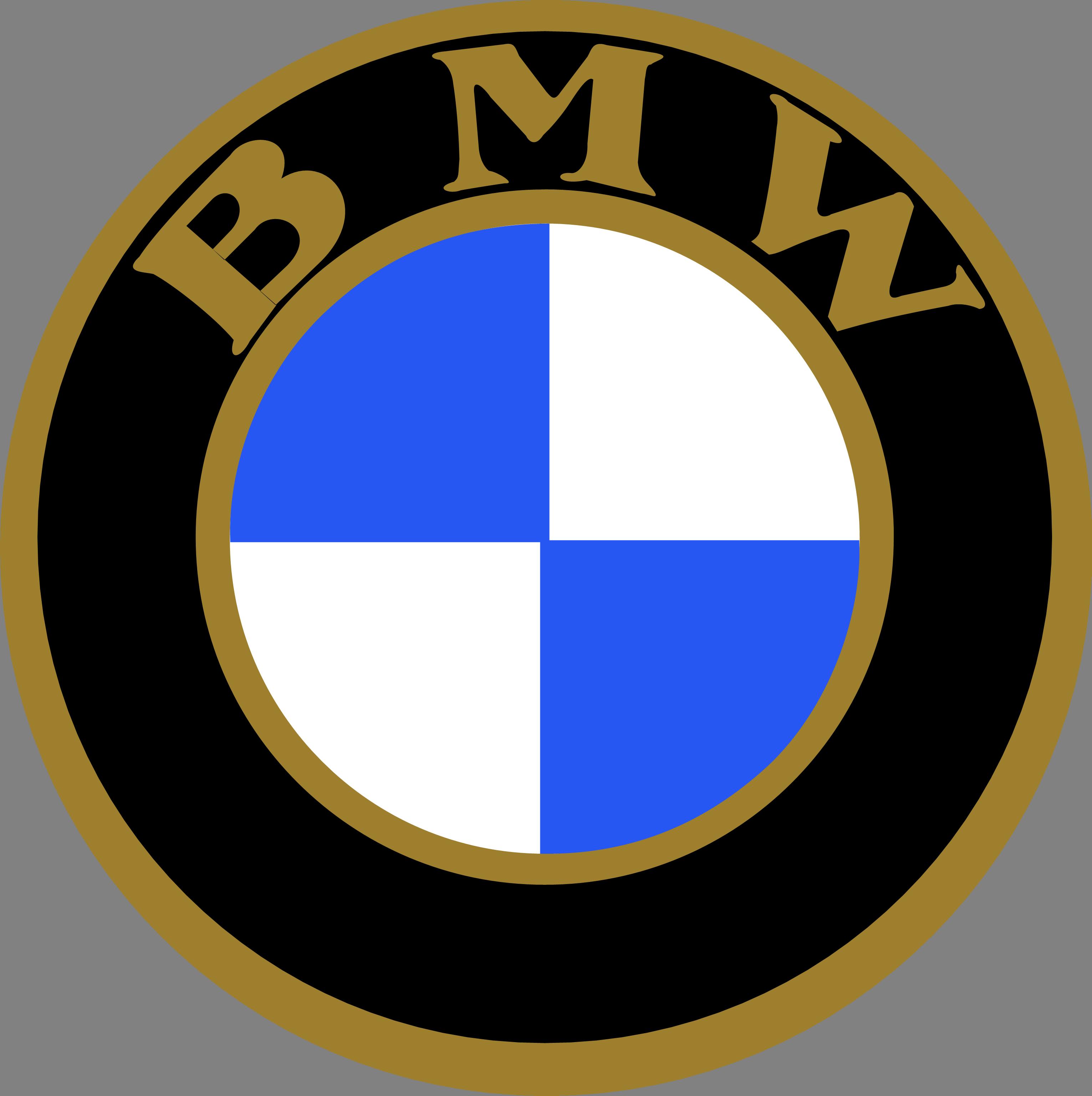 Bmw Emblem Png - Old Bmw Logo Vector Clipart - Full Size ...