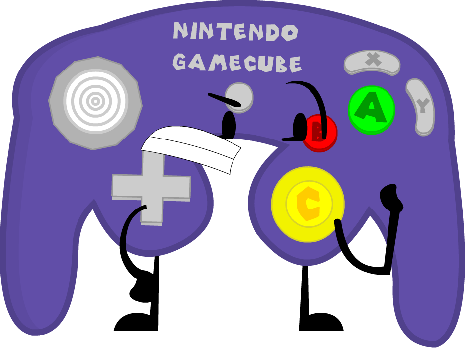 Controller Clipart Gamecube Controller - Object Show Game ...