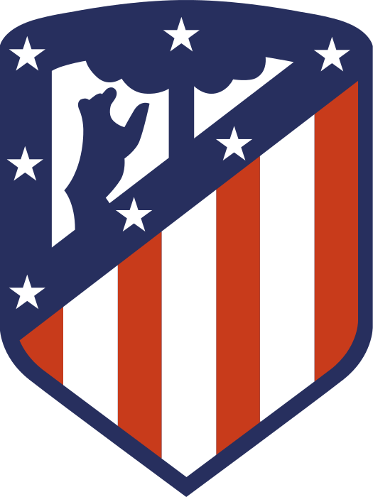 Next Atletico Madrid Logo Svg Clipart Full Size Clipart 739558 Pinclipart