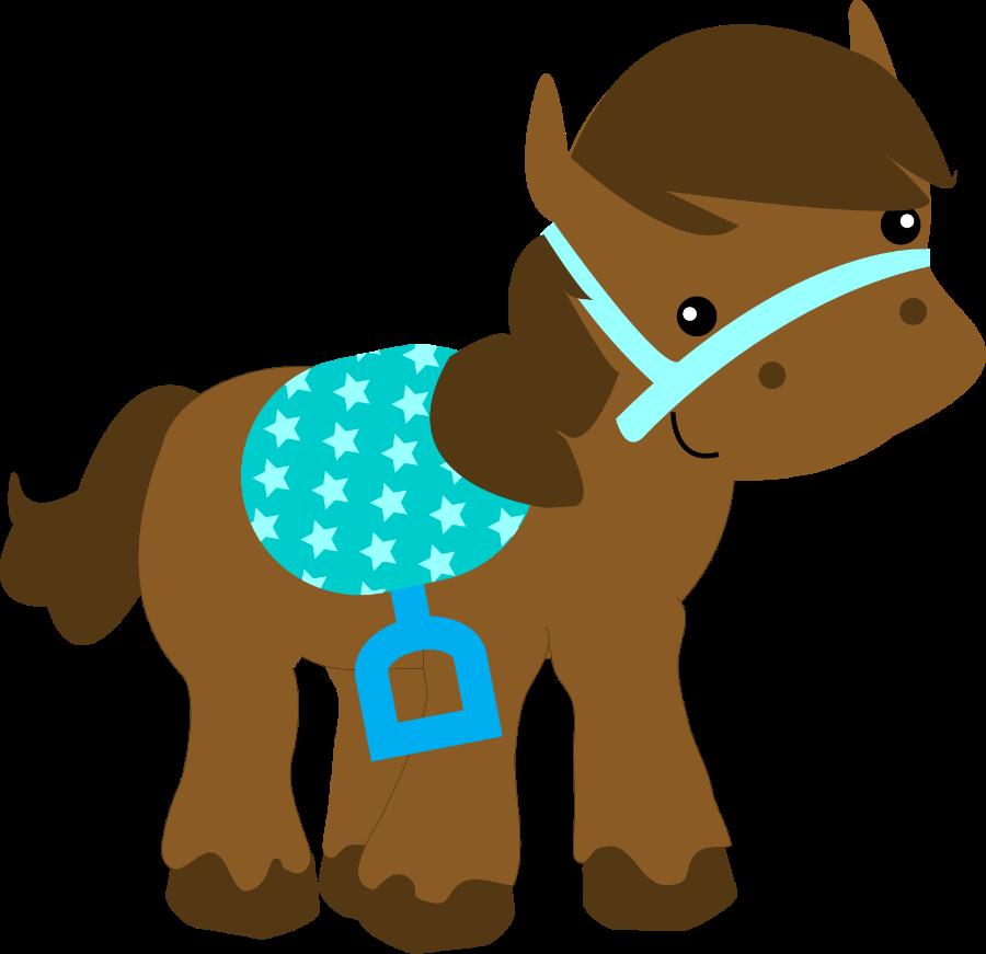 Cowboy E Cowgirl Desenho Cavalo Fazendinha Clipart Full Size