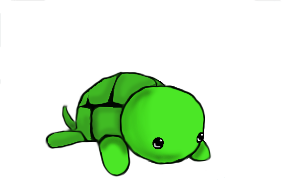 Dictionary Clipart Cute Cute Turtle Drawing Easy Png Download