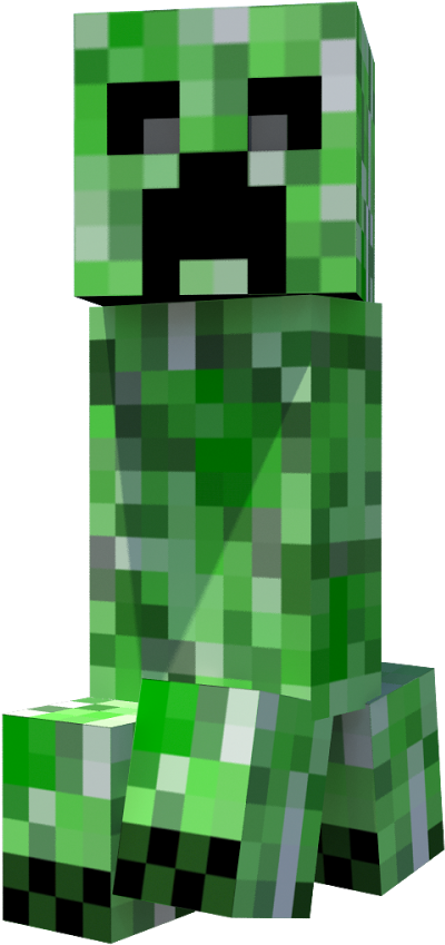 Minecraft Creeper Transparent Background Minecraft Creeper Png
