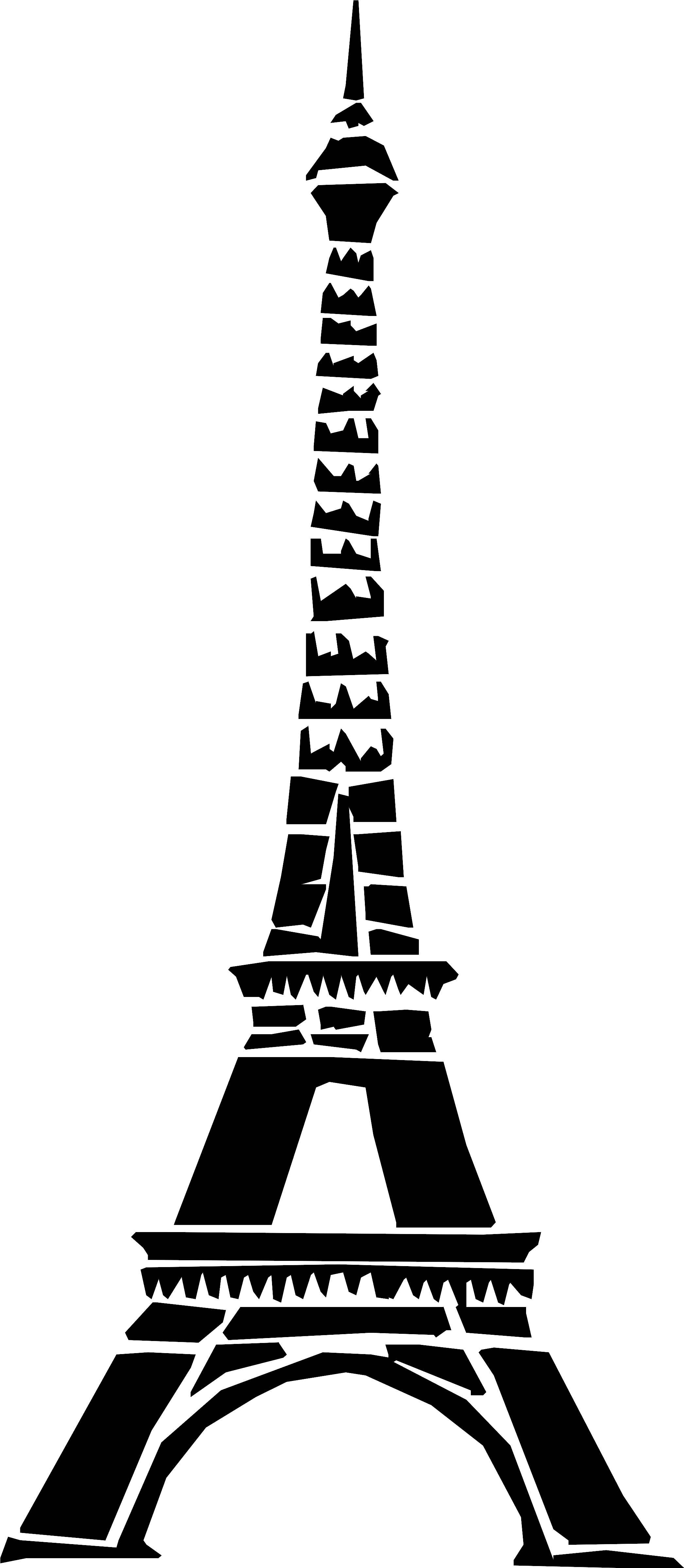 Eiffel Tower Clip Art Png Transparent Png - Full Size ...