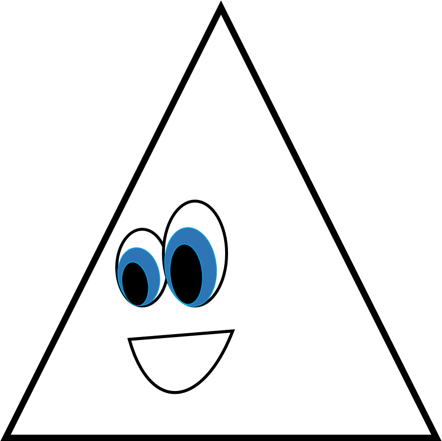 Free Triangle Clipart Black And White, Download Free Clip Art, Free Clip Art  on Clipart Library
