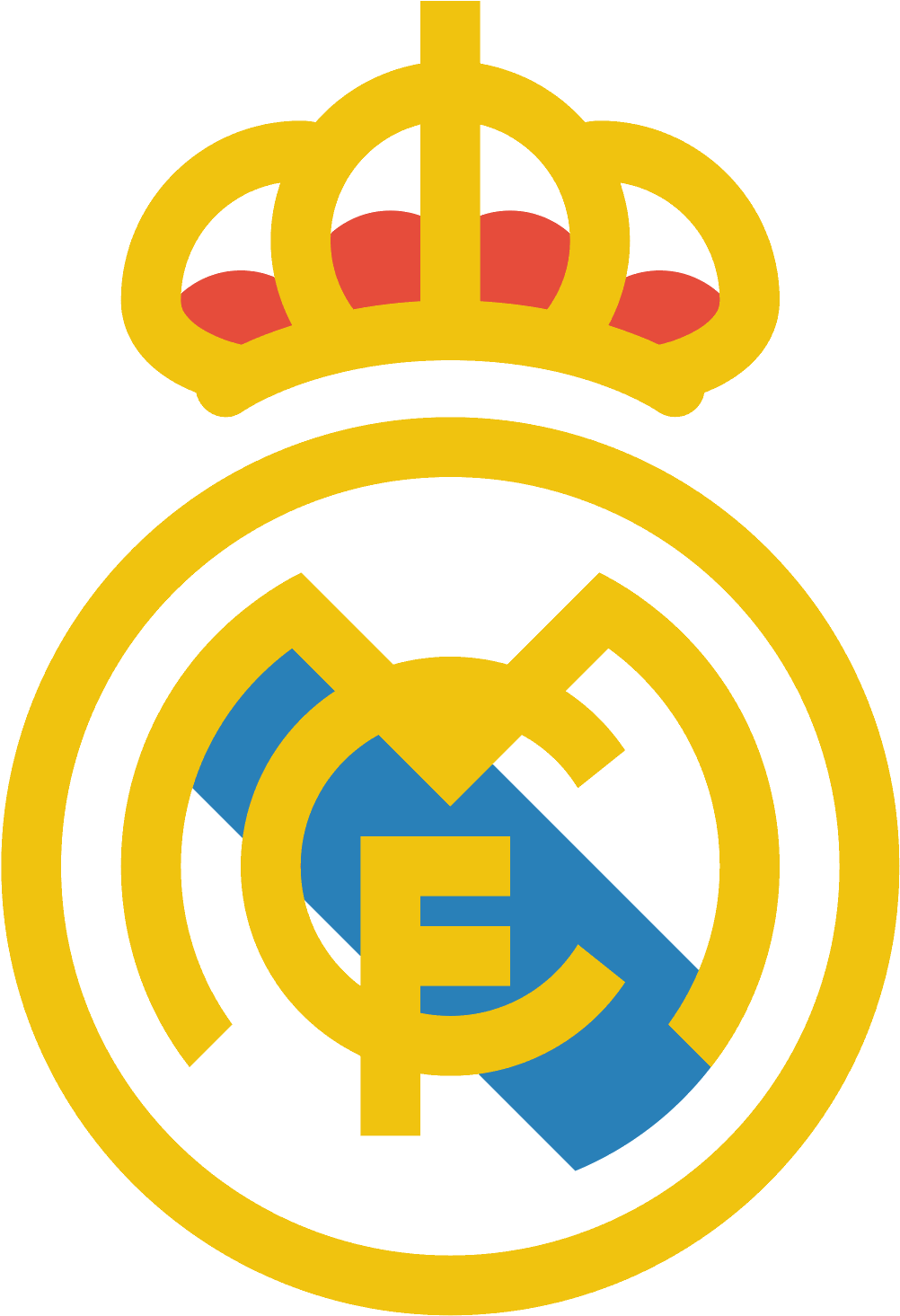 Logo Real Madrid Vector Clipart Full Size Clipart 878081 Pinclipart