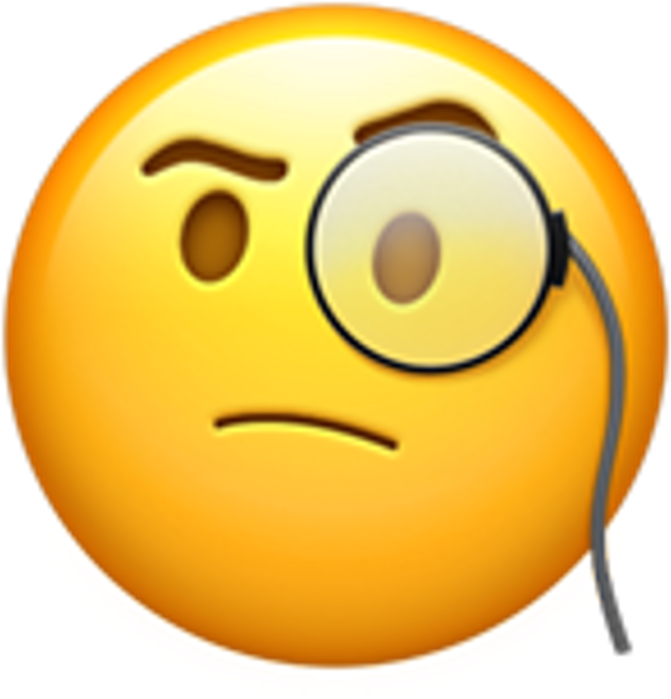 Thinking Emoji Smile Smileyface Fun Laugh Heart Black ...