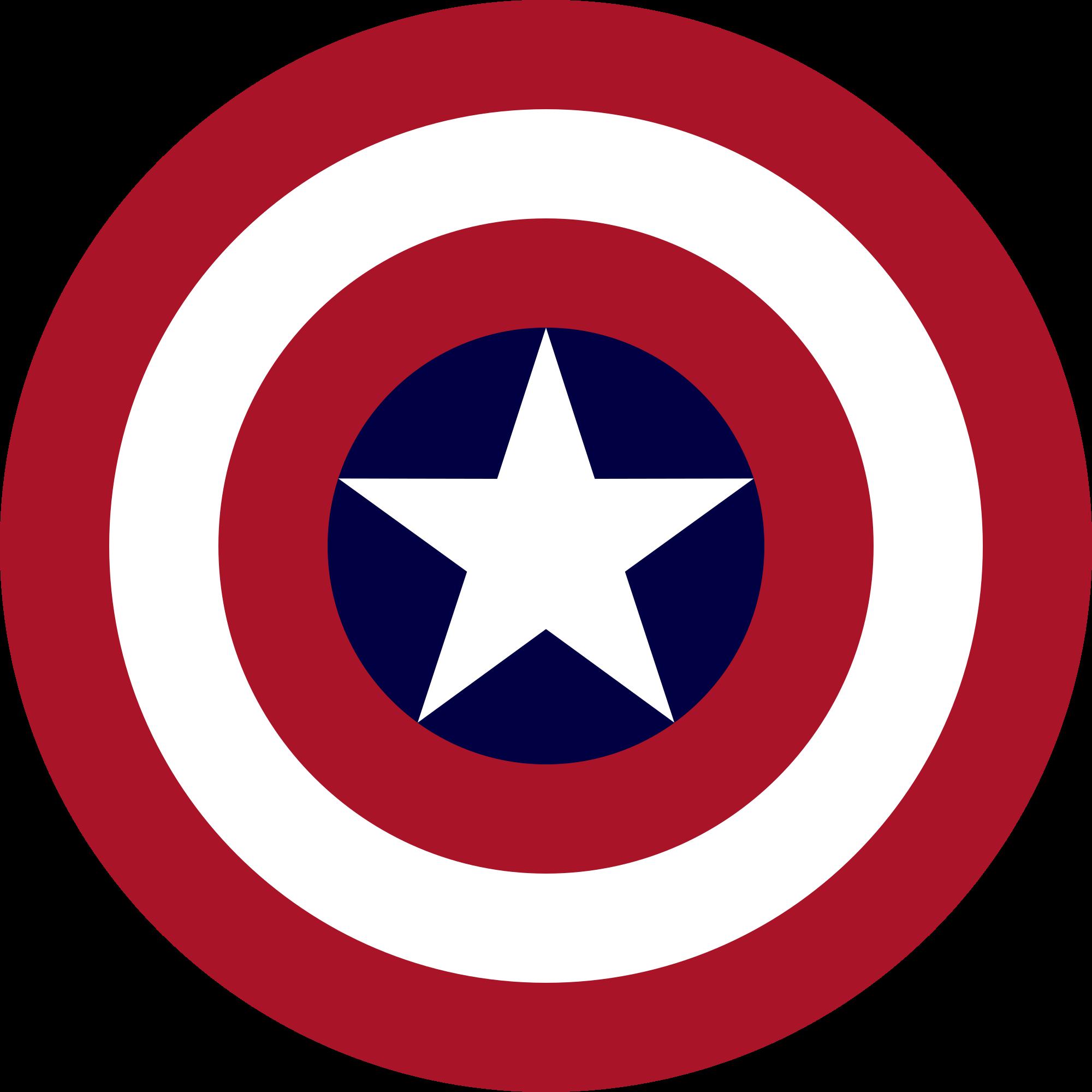 Clip Art Freeuse Library File S Shield Svg Dream League Soccer Captain America Logo