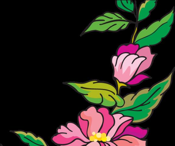 Original Flower Page Border Design Clipart Full Size Clipart 924410 Pinclipart,Address Label Designs