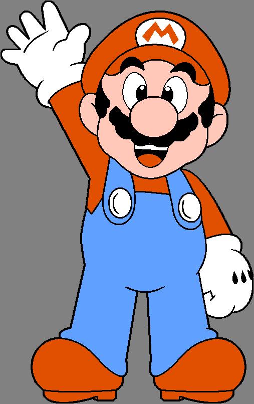 Super Mario Vector Logo Mario Bros Vector Clipart Full Size