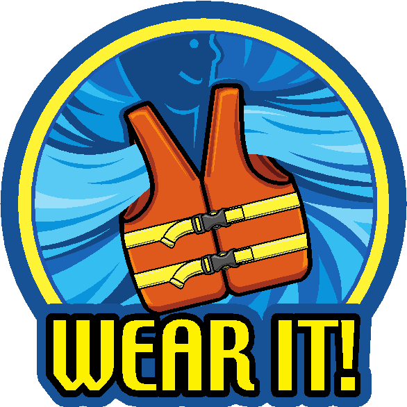 Wear Your Life Jacket To Work Day Hutcheson Wear A Life Jacket Clipart Full Size Clipart 930663 Pinclipart