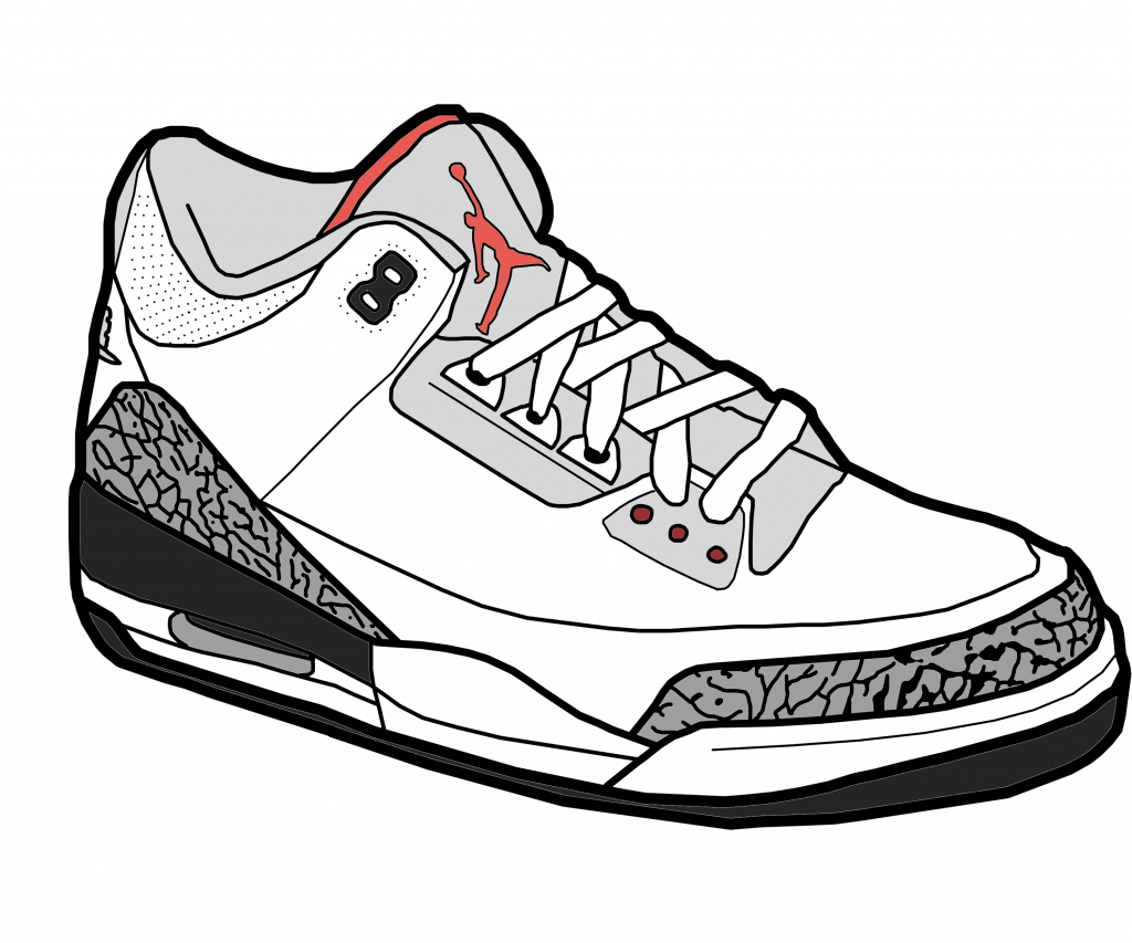 Best Jordan Drawing Vector Images Stocks And Cartoon Jordans Png Clipart Full Size Clipart 936243 Pinclipart