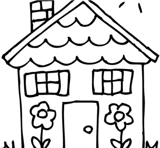 White House Clipart House Number
