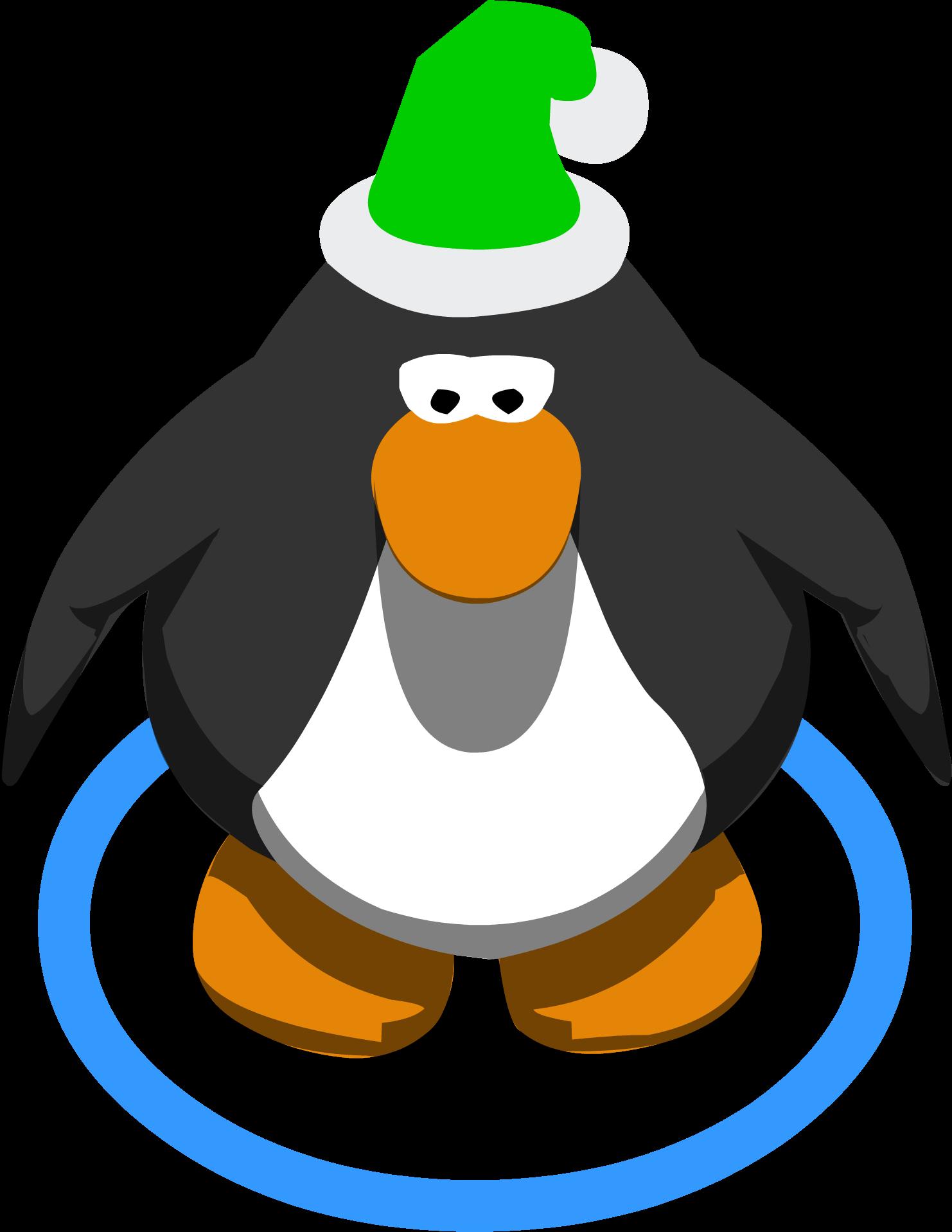 Elf Hat Ingame - Club Penguin Sombrero Png Clipart - Full ...