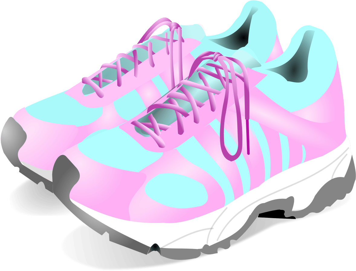 Free Pink Shoes Cliparts Download Clip Art Baby Tennis Woman Sport Shoes Png Transparent Png Full Size Clipart 967982 Pinclipart