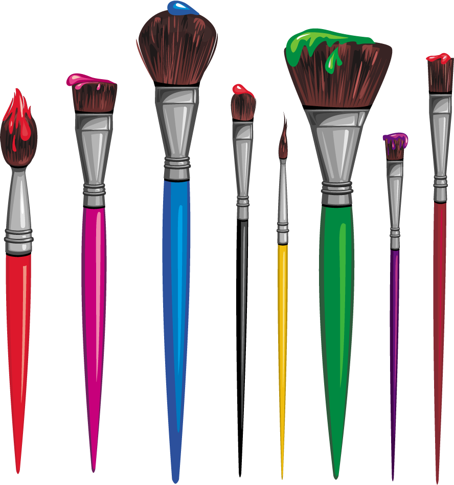Download Pinceaux Dessin Clipart Paint Brushes Drawing ...