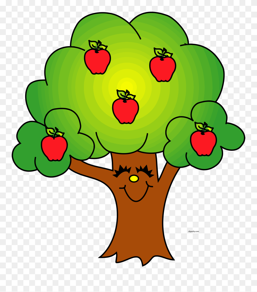 Download Trees Image Of Tree Clipart 8 Cool Apple Tree ...