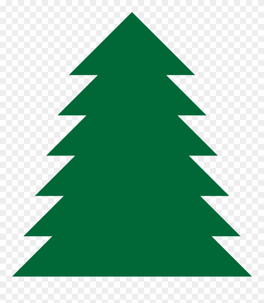 Pine Tree Clip Art Cliparts - Christmas