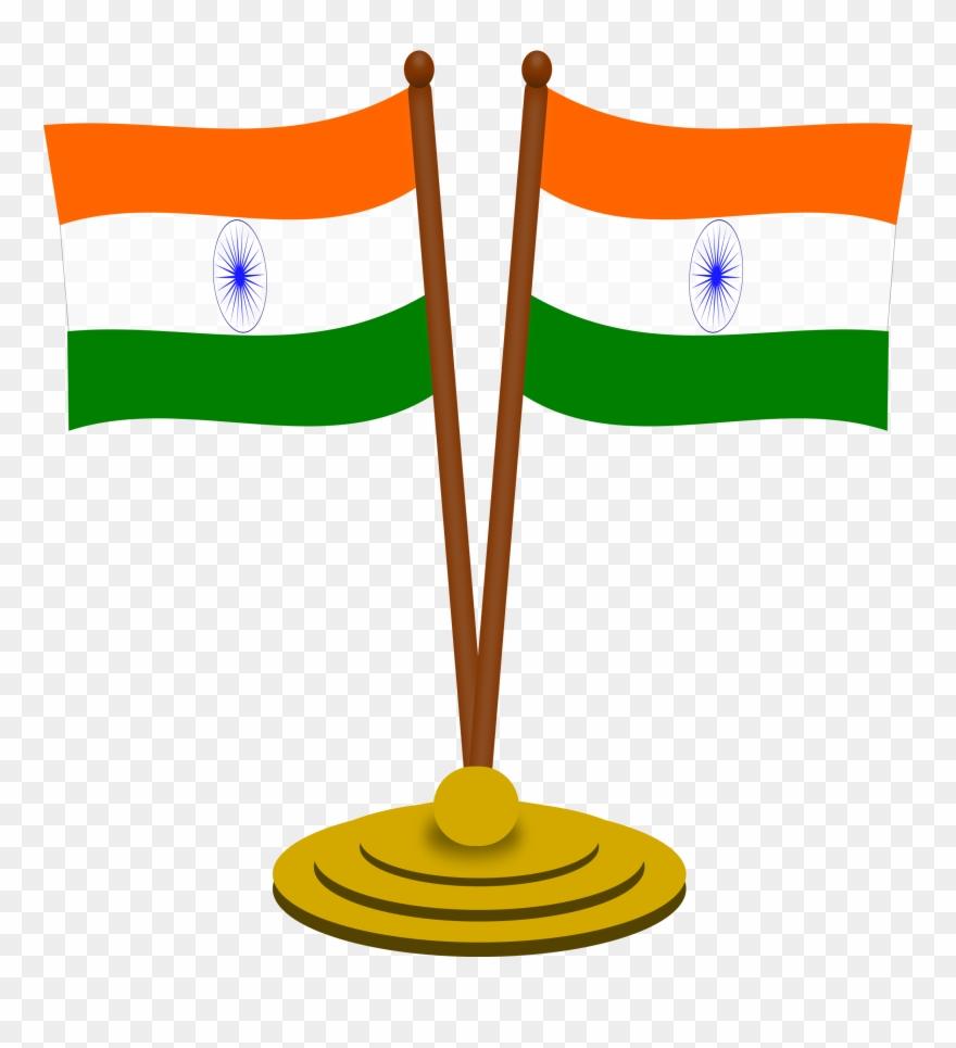Image India Flag Clip Art - Indian Flag Clipart Png Transparent Png