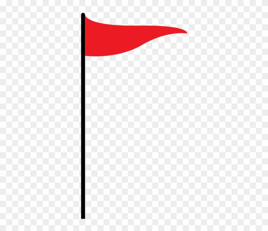 Flag vector. Red clipart pinclipart