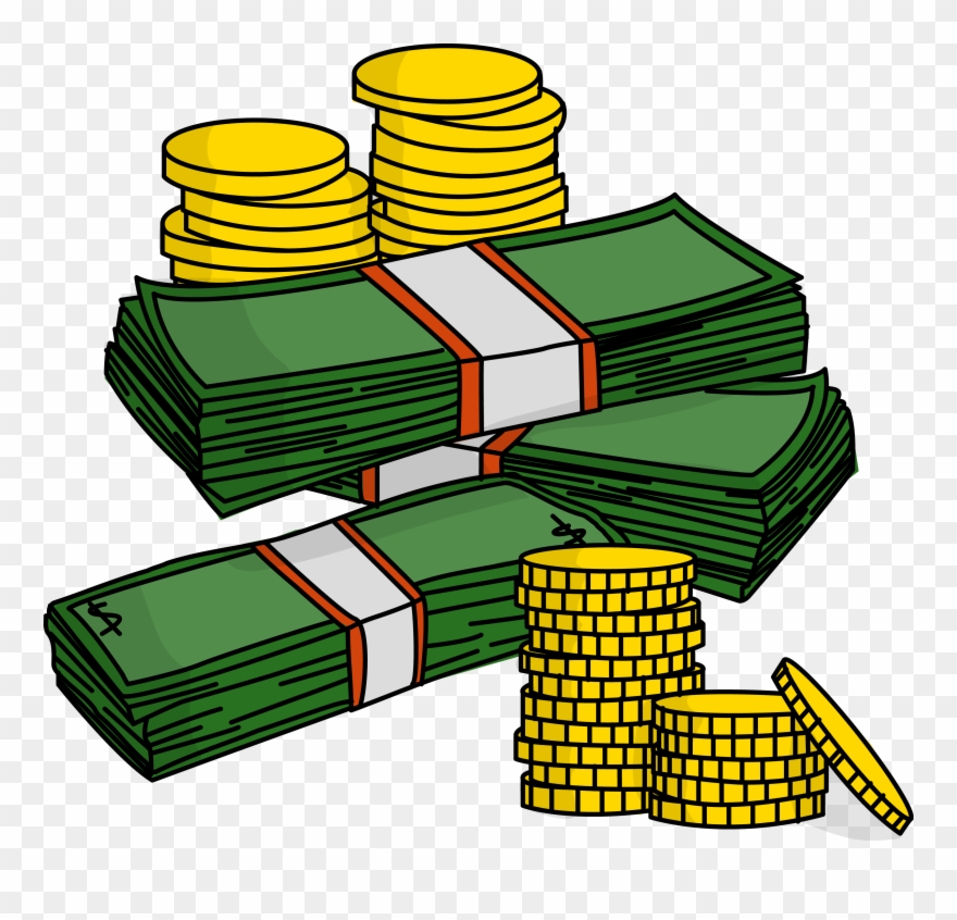 Money Clipart Clipart Collection Free Stacks Of Money - Money Clipart - Png Download