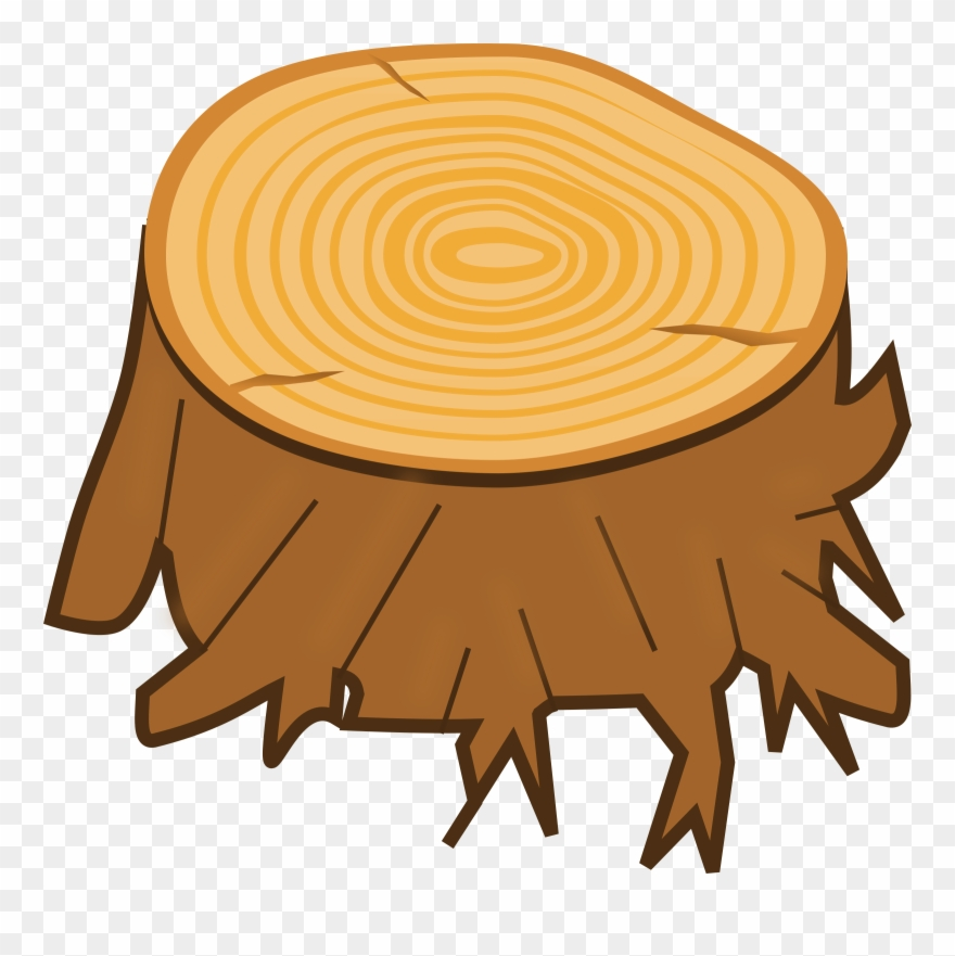 Clipart Tree Stump Tree Stump Clipart Png Transparent Png 310