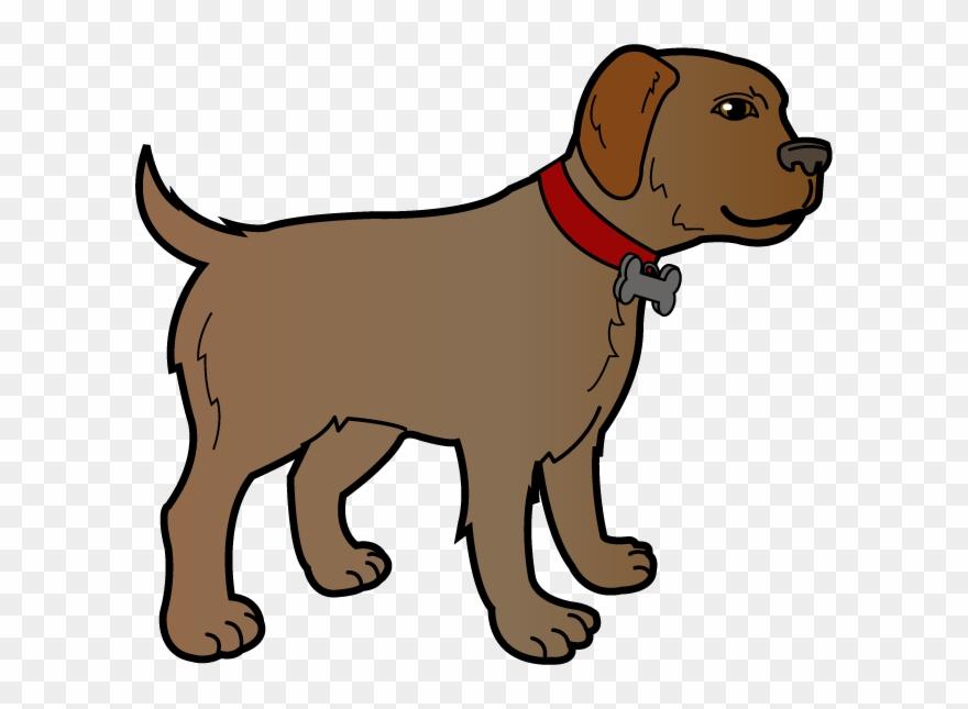 Dog brown. Free clipart clip art