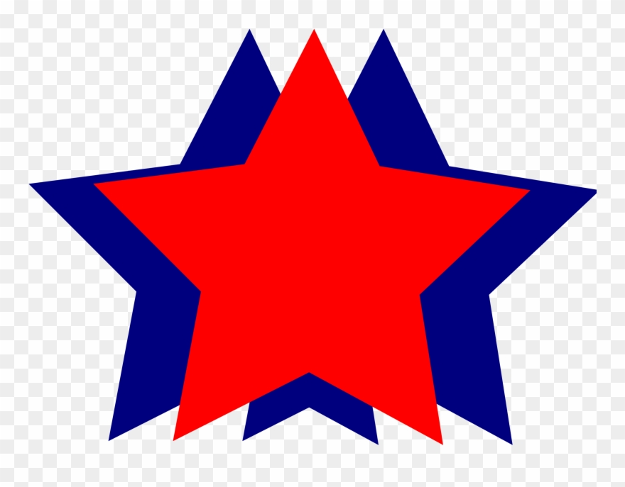 4th of july stars Transparent Images PNG.