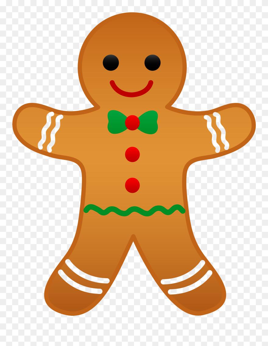 Free Christmas Clipart Animated Clip Art Santa Image Gingerbread