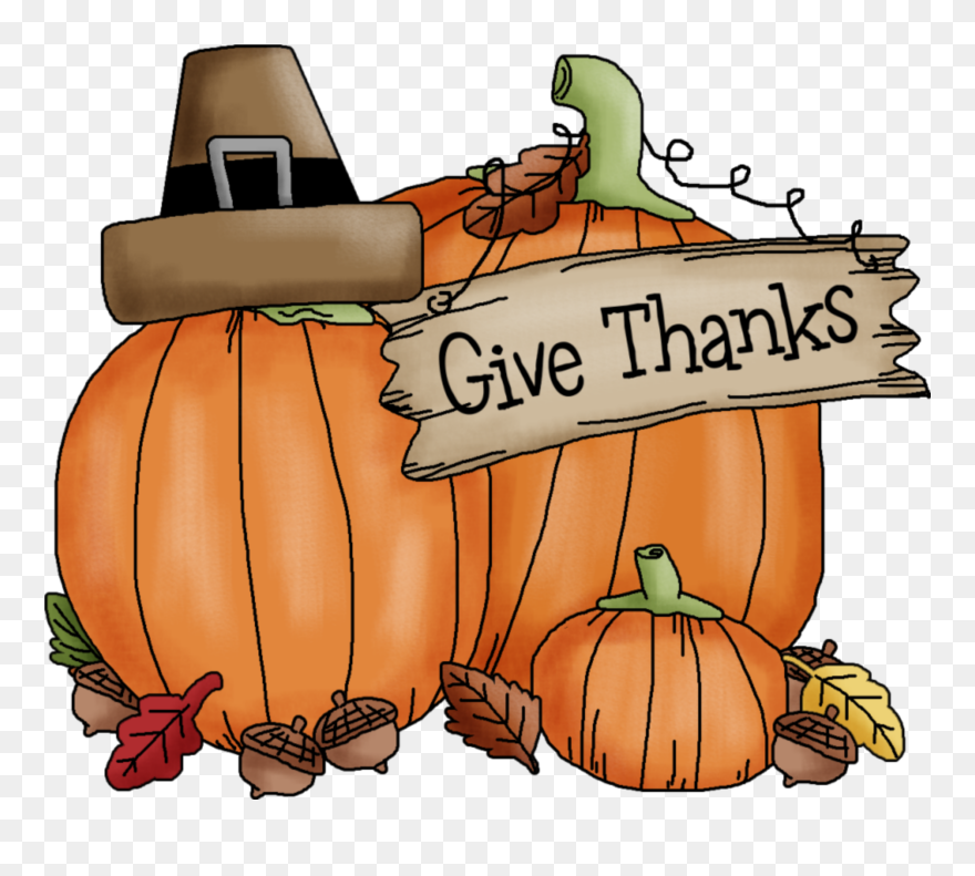 November pumpkin. Collection of thanksgiving clipart