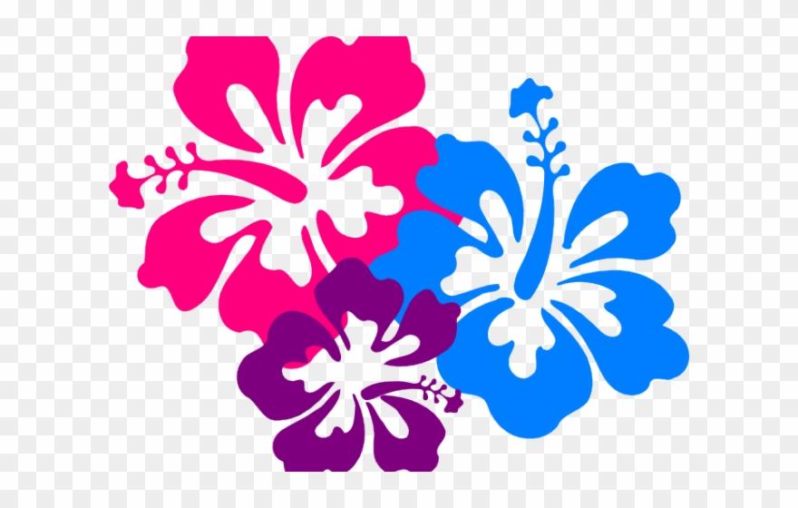 Flowers hibiscus. Clipart luau clip art
